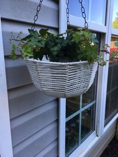 So the stay home order has lifted in my area, but that doesn't mean I'm ready to run out to the store the first chance I get. I plan on playing it safe and limi… Diy Hanging Planter, Hanging Baskets, Planter Ideas, Diy Vanity Lights, Headboard Art, Garden Spheres, Building A Kitchen, Mason Jar Flowers, Flower Pots