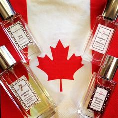 Our fragrances are Made In Canada! Happy Canada Day Everyone. Natural Essential oils from nations rebuilding. #MakePerfumeNotWar $70 CAD 50ml