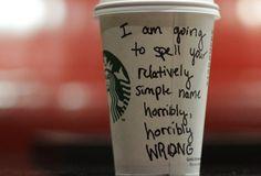 Starbucks Video Namen Fail | Interview
