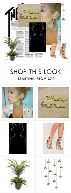 """""""EllinasTreasures"""" by munja92 ❤ liked on Polyvore featuring Missguided, NDI and Sonneman"""