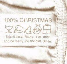 it easy. Eat, drink and be merry. Do not diet.Take it easy. Eat, drink and be merry. Do not diet. Noel Christmas, Christmas Is Coming, Christmas And New Year, Winter Christmas, Christmas Cards, Christmas Decorations, Christmas Puns, Christmas Trends, Natural Christmas