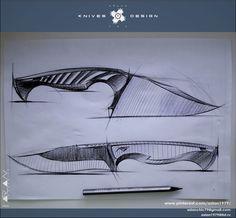 Angry kitchen knives / design Aslan чик / KNIVES & DESIGN