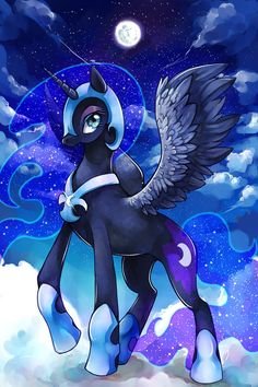 Nightmare Moon by GreyRadian.deviantart.com on @deviantART