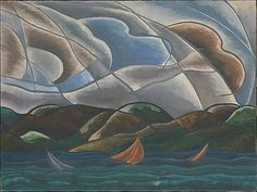Arthur Dove. Clouds and water