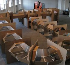 corrugated cardboard r/c race track.the coolest use of cardboard ive ever seen