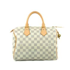 Pre-owned Louis Vuitton Damier Azur Canvas Speedy 25