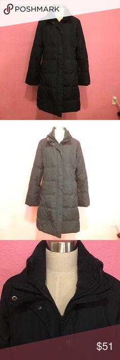 Gap puffer stadium winter coat.  Black Gap puffer stadium winter coat.  Black   No hood GAP Jackets & Coats