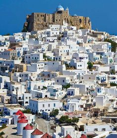 - The beautiful Astypalaia island. Pays Europe, Beautiful Islands, Beautiful Places, Places To Travel, Places To See, Greek Isles, Greece Travel, Santorini, Travel Posters