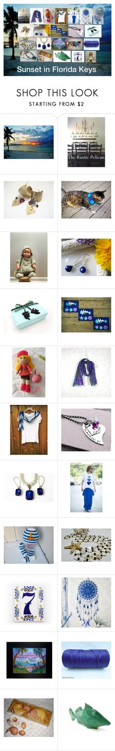 """""""Sunset in Florida Keys: Unique Gift Ideas"""" by paulinemcewen on Polyvore featuring Lazuli, rustic and country"""