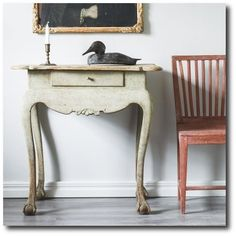 Norwegian Rococo Table D Larsson Interior