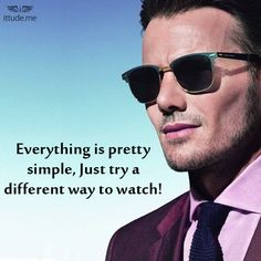 Team up a right pair of sunglasses by Emporio Armani that enhance your all-day appearance.  Click here to view: - https://www.ittude.me/shop/men/eye-wear.html?manufacturer=298