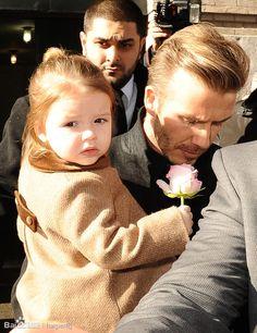 David Beckham  Harper Seven Beckham