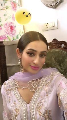 Embroidery Suits Punjabi, Embroidery Suits Design, Pakistani Bridal Makeup, Pakistani Wedding Dresses, Indian Fashion Dresses, Dress Indian Style, Pakistani Kurta, Anarkali, Stylish Dress Designs