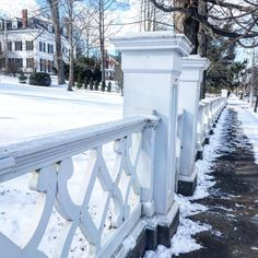 White fence New England Fine Living