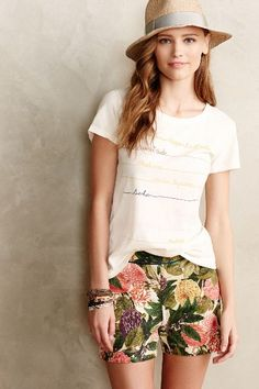 Scripted Tee - anthropologie.com #anthroregistry
