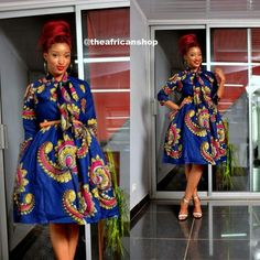 Yes, we excitedly bring to you these admirable Ankara styles…Easter Edition! It's always a good day for us at Wedding Digest when we come across something that makes us want… African Dresses For Women, African Attire, African Wear, African Fashion Dresses, African Women, African Style, African Clothes, Ankara Fashion, African Print Fashion