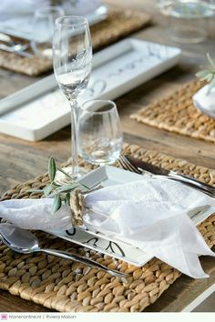 simple sommer table