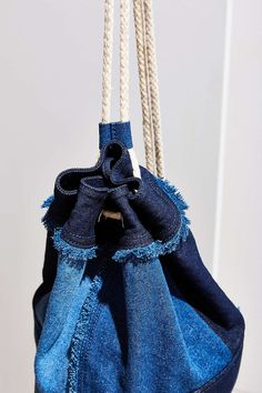 Kristen Denim Backpack - Urban Outfitters