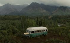 The Magic bus, this is where Chris spent the last of his days.