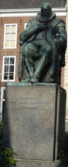 Den Haag - Lange Vijverberg - Johan van Oldenbarneveldt - 1954 - Oswald Wenckebach