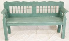 shabby chic benches | The Shabby Chic Painted Pine Bench has been added to your saved items.