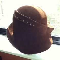 Behida Dohlic on  Etsy   Last post I showed you how to carve a round hat block. I carved this block out of Stryofoam so that I could eas...