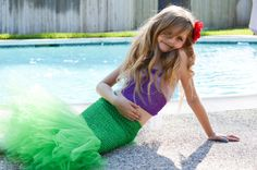 Disney Inspired The Little Mermaid Ariel Tutu by PoshPixieTutu, $34.99