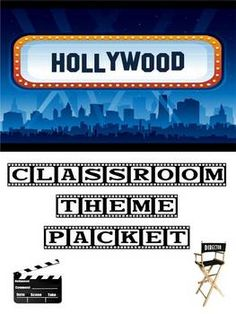 MOST POPULAR! This packet comes with 39 pages packed with Hollywood themed items, including: a Microsoft Word 2007 newsletter template, binder cove...