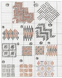 long stitch patterns -