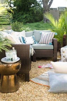 West Elm   Outdoor Movie Party With @thouswellblog