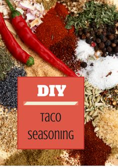 The perfect recipe for your own Taco Seasoning. No need for the packaged seasoning with MSG and super funky ingredients. And I bet you have most of these in your pantry!