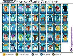 SlugTerra Trading Cards Checklist1