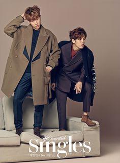 Infinite - Singles Magazine September Issue '15 - Sungkyu, Dongwoo