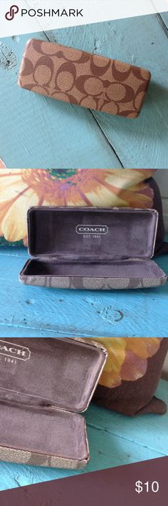 Coach eyeglasses case. Coach glasses in used condition. Coach Accessories