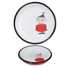 Moomin Enamel Plate/Little My Retro