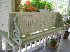 Shutter Shelf///DIY Craft Projects using Old Shutters - Trash to Treasure Furniture Projects, Wood Projects, Diy Furniture, House Projects, Garden Furniture, Repurposed Furniture, Painted Furniture, Repurposed Doors, Repurposed Items
