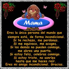 SUEÑOS DE AMOR Y MAGIA: Mamá