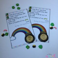 That Leprechaun is sneaky and too hard to catch! Leave this letter with a special surprise! St Patrick Day Snacks, St Patrick Day Activities, Letter To Students, Leprechaun Trap, St Patricks Day Crafts For Kids, March Themes, St Patricks Day Parade, Daycare Crafts, Luck Of The Irish