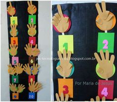 To visual kids Montessori Activities, Infant Activities, Colegio Ideas, The Creator, Funny Pictures, Teacher, Math, Crafts, Numbers