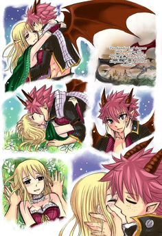Natsu and Lucy - Tumblr