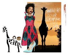 """Giraffe"" by drey004 on Polyvore featuring FAIR+true, Oscar de la Renta, Nest and Marco Bicego"