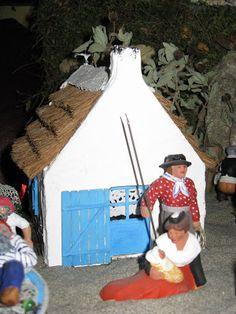 Provence Crèches: Plans cabane gardian