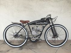 Vintage Schwinn BTR board track racer, vintage motorcycle replica, motorized bicycle, piston bike, Gasbike, Venice