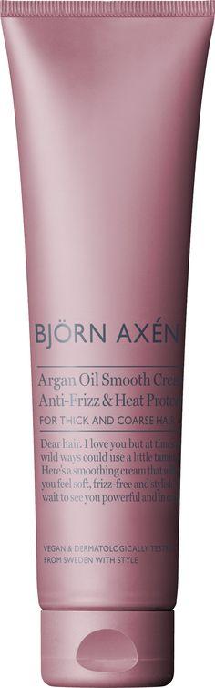 Argan Oil Smooth Styling Creme 150 ml - Björn Axén - KICKS Linda Hallberg, Coarse Hair, Argan Oil, Keratin, Anastasia