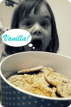 PB Vanilla Cookies