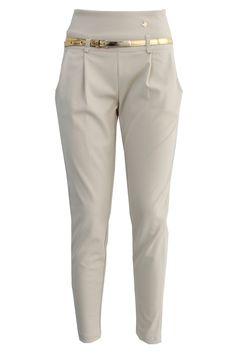 Pantaloni bustino alto c/cintura   Giorgia & Johns