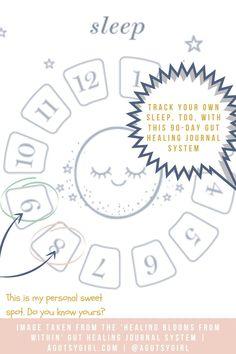 Sleep and Gut Healing agutsygirl.com #journal #guthealth #sleeptracking #sleep