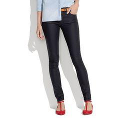 Skinny Skinny Jeans in Coated Oilwell Wash #ellemagazine and #mixwellmadewel