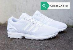Adidas ZX Flux brancos (I love❤)