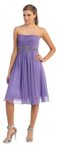 Short Prom dress in color Purple, Blue, Black & more - Strapless style in Chiffon - Plus Size available. - 79 - Dress URL: http://www.jessicasfashion.com/simple-stylish-bridesmaid-dress-mq711.html #prom2013 #promdresses #promdress #dressshopping #purpleprom #purplepromdress #chiffondress #chiffondresses #shortpromdress #shortdress #shortdresses #straplessdress #straplessdresses #plussizedress